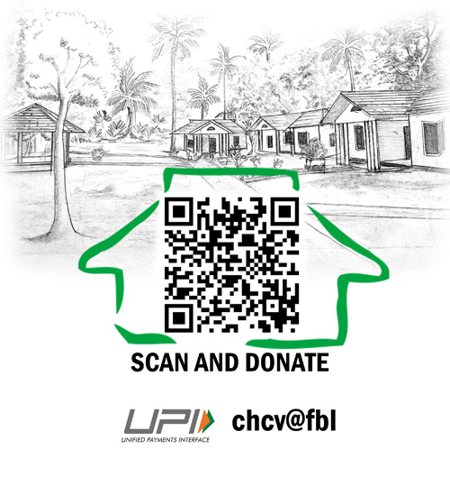 Scan QR code and Donate